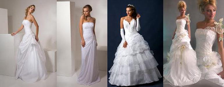 Женская одежда: Свадебные Платья Дешево